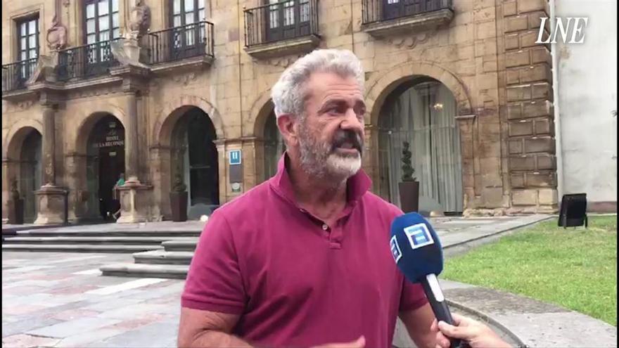 Mel Gibson se enamora de Asturias