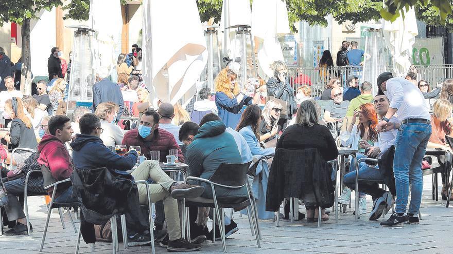 La provincia de Zaragoza tiene más incidencia que sus colindantes