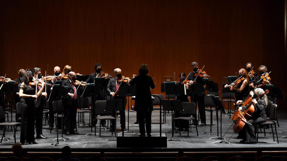 La Orquesta de Córdoba, durante un concierto.
