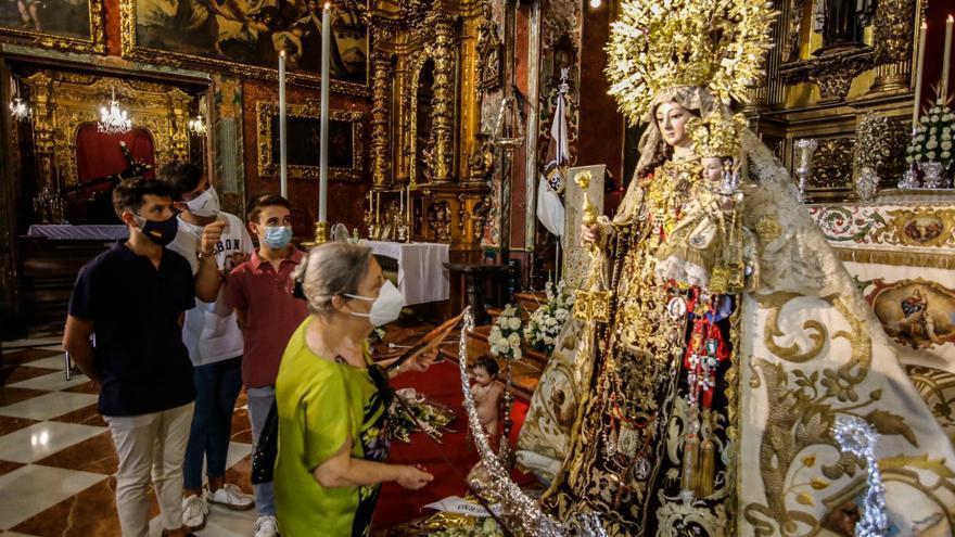 El Carmen de San Cayetano suspende la procesión tras un informe negativo de Salud