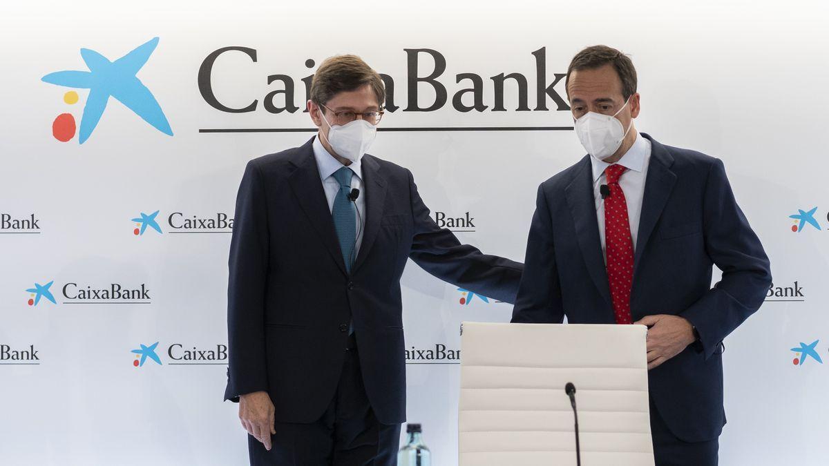 José Ignacio Goirigolzarri y Gonzalo Gortázar, este viernes en Valencia.