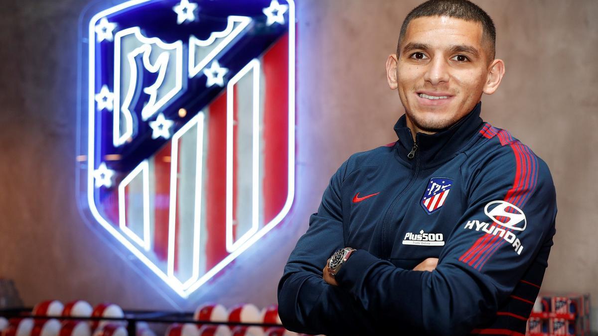 Lucas Torreira, nuevo jugador del Atlético de Madrid