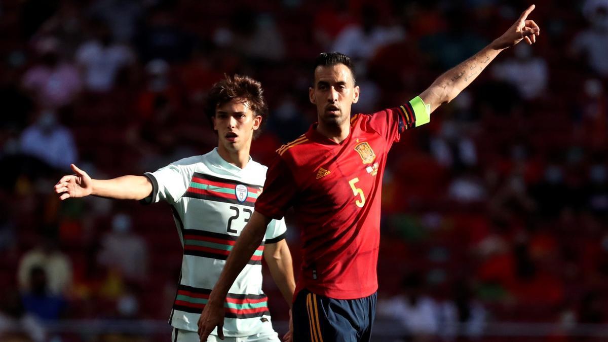 El capitán de la Selección, Sergio Busquets