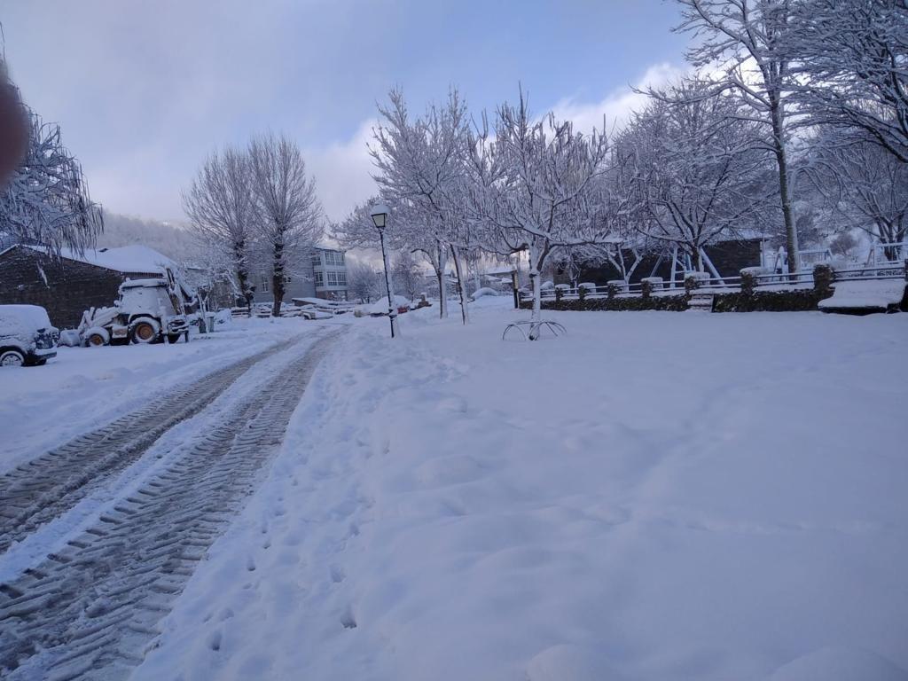 Porto, el pueblo zamorano nevado que parece un cuento de Navidad