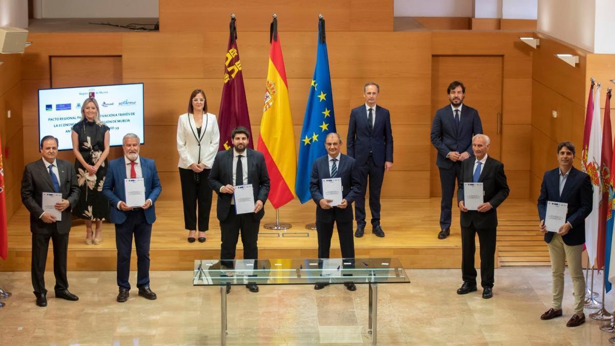 Pacto regional para la reactivación a través de la economía social de la Región de Murcia ante la pandemia de la Covid-19.