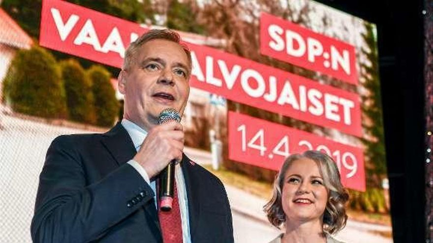 La ultraderecha finesa amenaza la victoria de los socialdemócratas en las elecciones