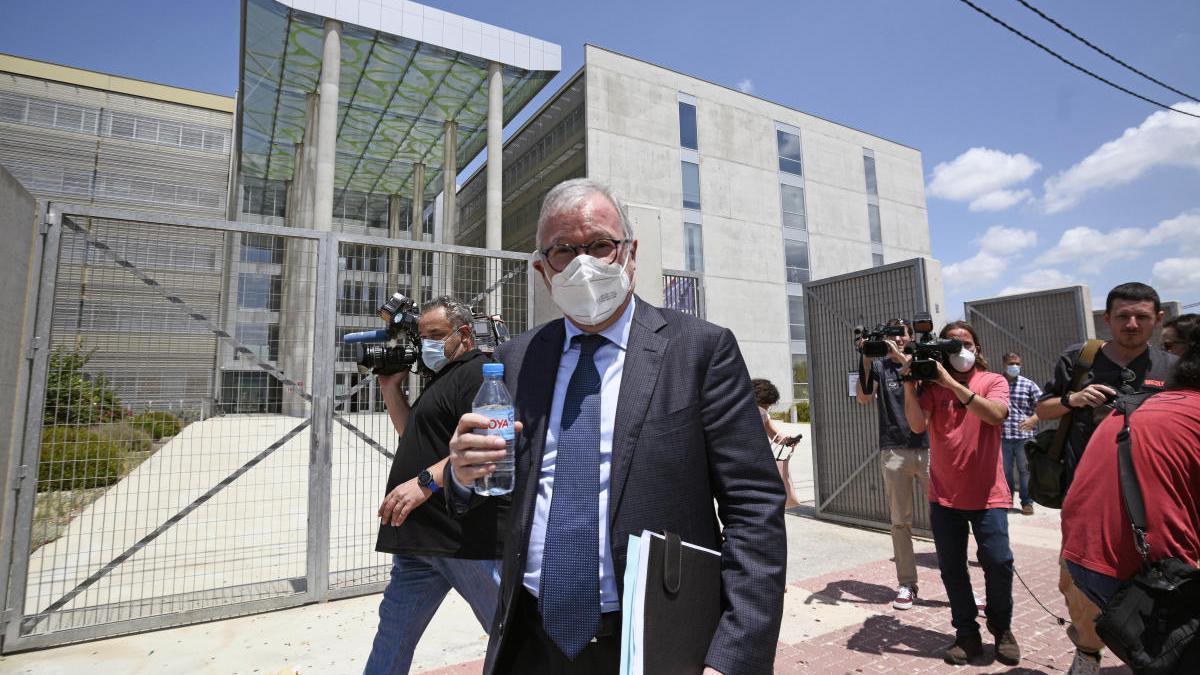 La juez deniega la petición de prisión provisional para Valcárcel