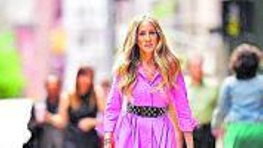 Primeres imatges del rodatge de la seqüela de «Sexo en Nueva York»