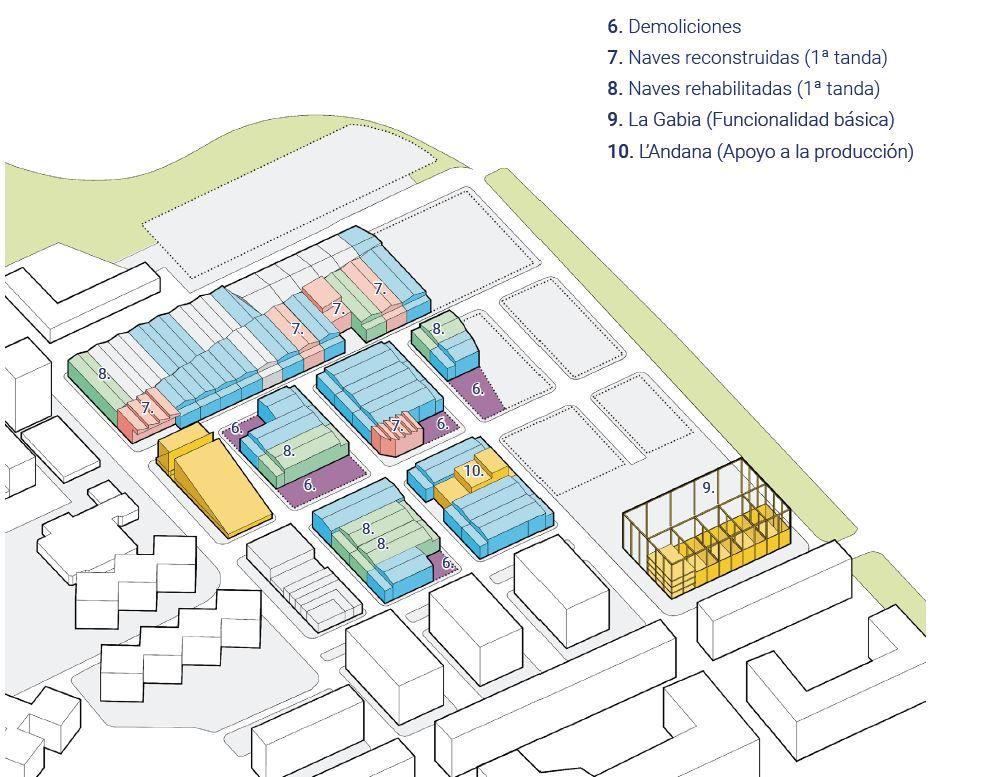 Las fases del desarrollo de la Ciudad del Artista Fallero