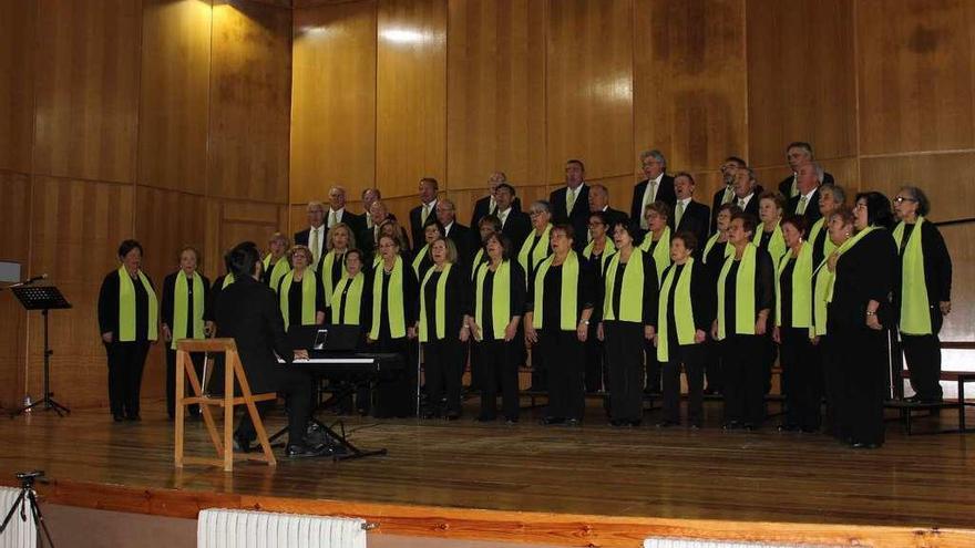 Cita con la música coral en San Miguel de Oia