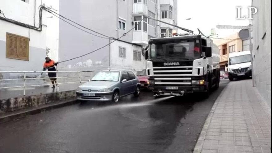 Las Palmas de Gran Canaria incorpora a 134 trabajadores para limpieza