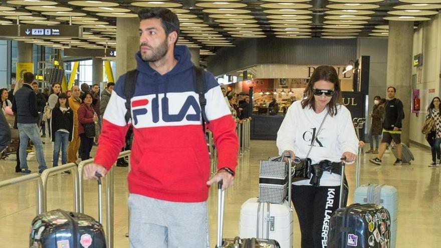 Paula Echevarría vuelve a Madrid tras su 'gira mundial'