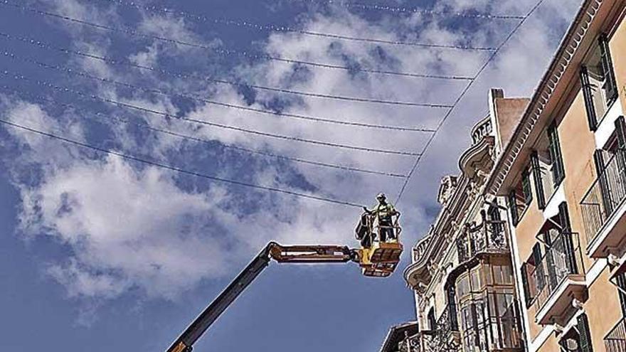 Palmario | Las luces navideñas ya llegan a Sant Miquel