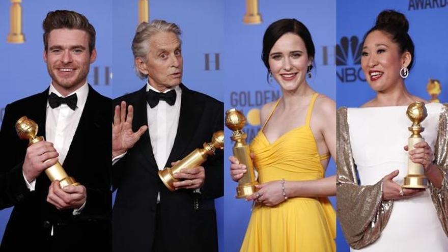 Actores ganadores en los Globos de Oro por sus papeles en series