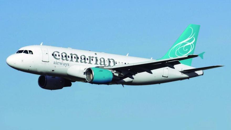 Una aerolínea canaria sin alas