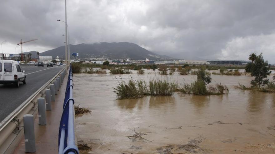 Málaga pide a la Junta que contemple en sus mapas de inundabilidad las obras del Guadalhorce