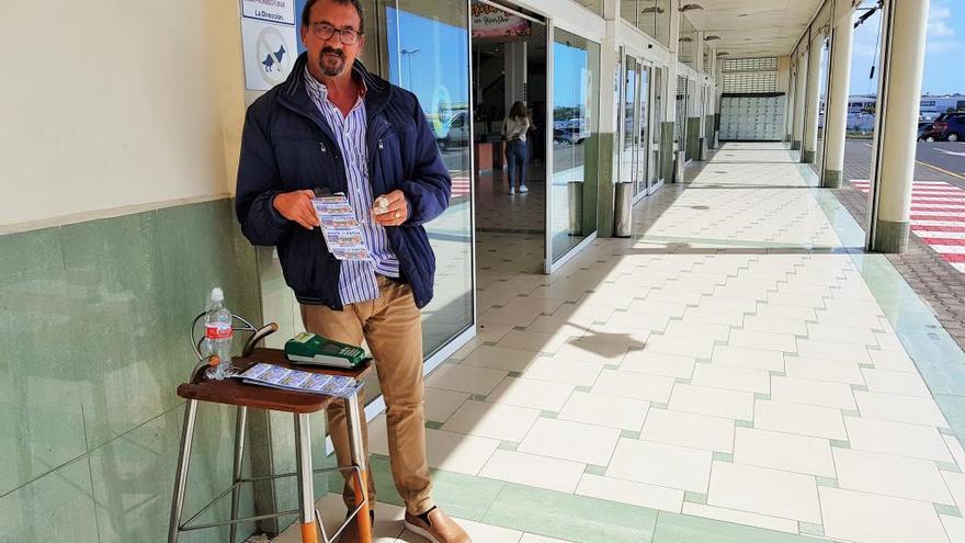 La ONCE deja 240.000 euros en un número vendido en el aeropuerto de Lanzarote