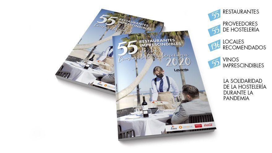 Así es la guía de los 55 imprescindibles de la Comunitat Valenciana