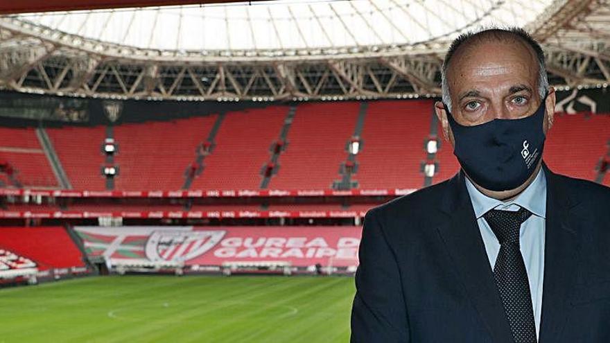 Tebas acusa a Infantino de estar tras el proyecto de Superliga europea