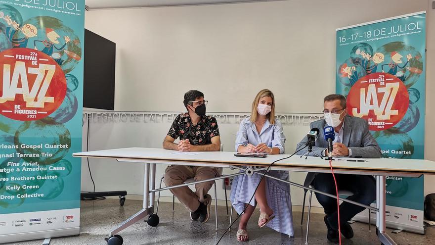 El 27è Festival de Jazz de Figueres programa sis concerts del 16 al 18 de juliol