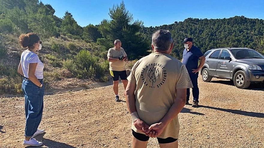 Más de 100 voluntarios vigilan la sierra de Crevillent