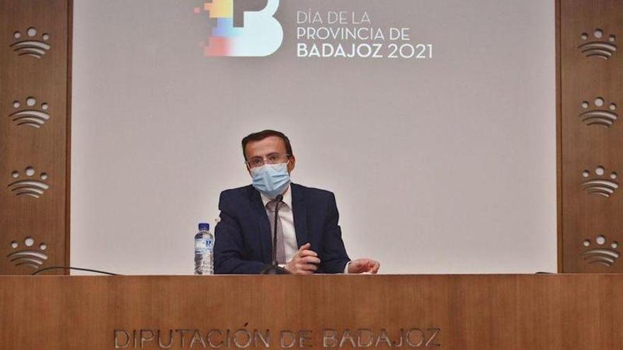 La Diputación de Badajoz divide la celebración del Día de la Provincia en dos actos