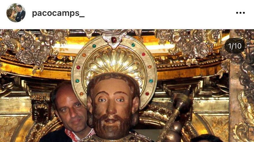 Francisco Camps se estrena en Instagram