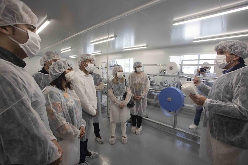 Empresas seleccionadas en los proyectos innovadores frente al Covid-19 de Ontinyent