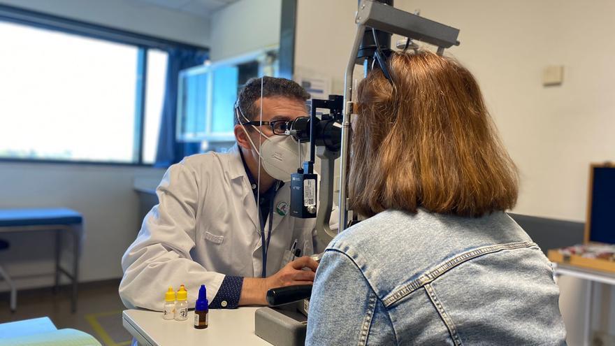 El hospital Reina Sofía abre una nueva consulta de Neurooftalmología