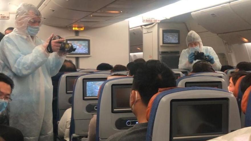 """Un valenciano en China: """"A los extranjeros nos han pedido que salgamos de aquí"""""""