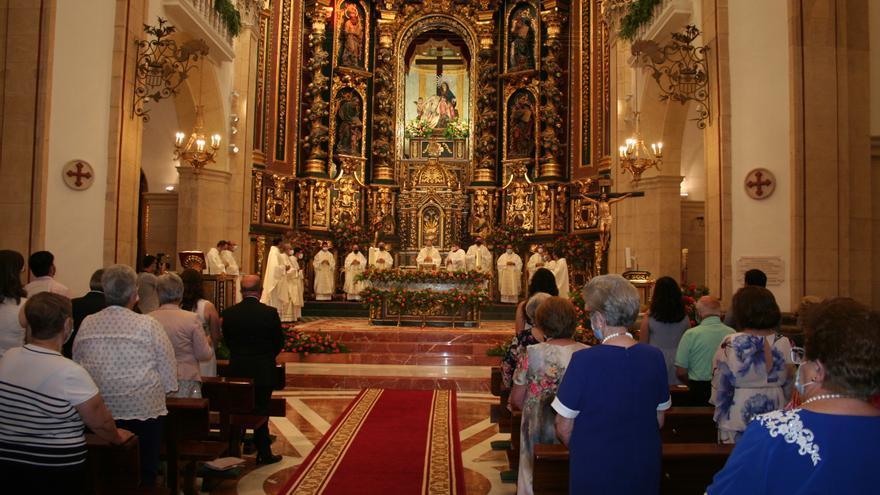 Primera Misa Solemne de Pablo García Félix en Lorca