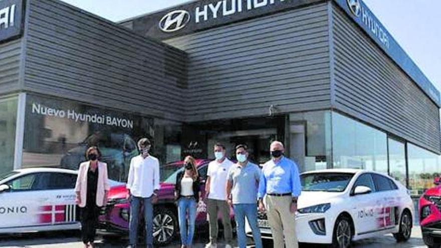 Huertas Móvil y el FC Cartagena se dan la mano: los albinegros contarán con vehículos Hyundai en LaLiga Smartbank