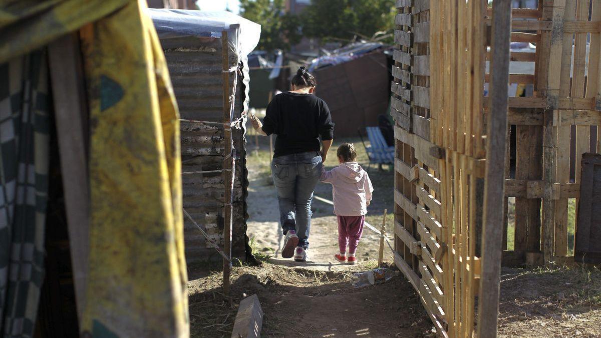 Cada vez hay más niños pobres en Argentina