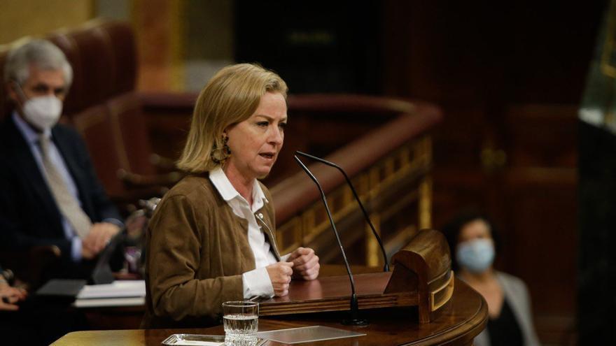 """Ana Oramas afirma que la prórroga del estado de alarma """"se queda corta"""" y pide al Gobierno que se """"ponga las pilas con Canarias"""""""