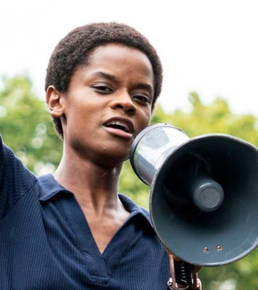 Letitia Wright lidera la lucha contra la brutalidad policial en el tráiler de 'Mangrove' de Steve McQueen