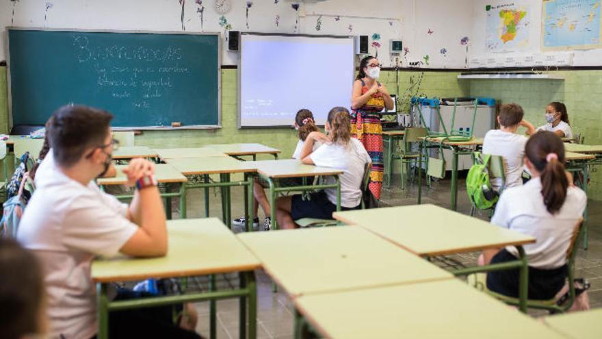 La ventilación de las aulas canarias es insuficiente para evitar contagios