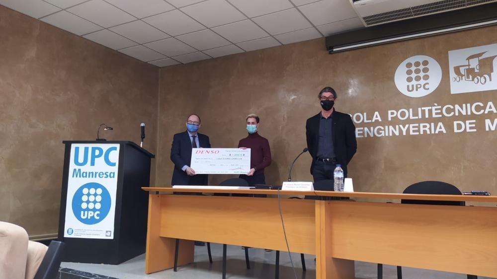 Lliurament dels Premis DENSO en reconeixement als millors expedients de la UPC a Manresa