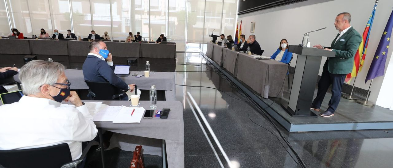 Perfecto Palacio, en el Debate del Estado del Municipio de Elche, esta mañana