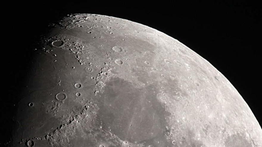 La lluvia de asteroides que afectó a la Luna hace 800 millones de años