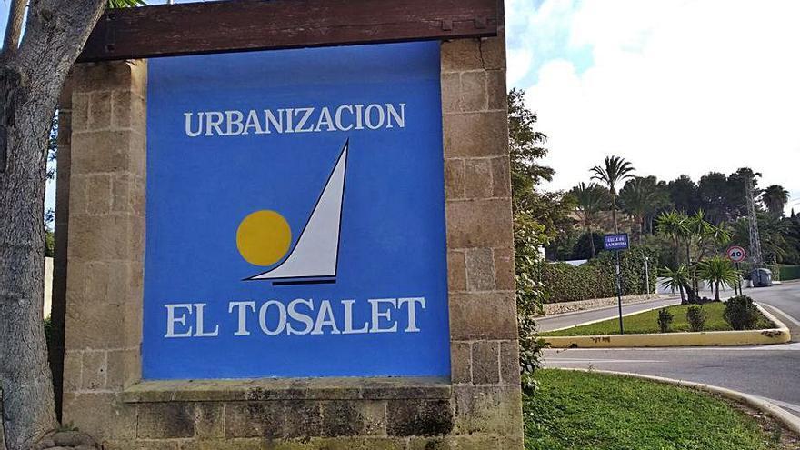 Condenan a Xàbia a pagar 95.000 euros a 'El Tosalet', urbanización pionera de 1967