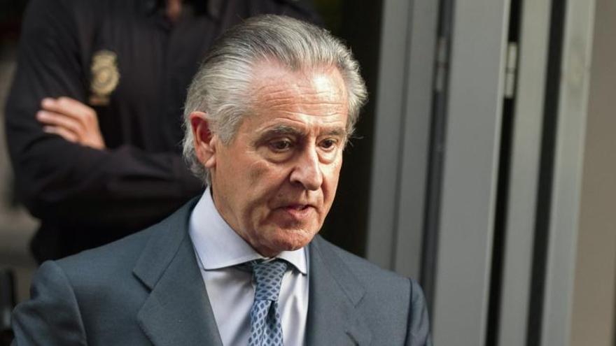 Bankia reclama la responsabilidad civil de Miguel Blesa por las 'black'