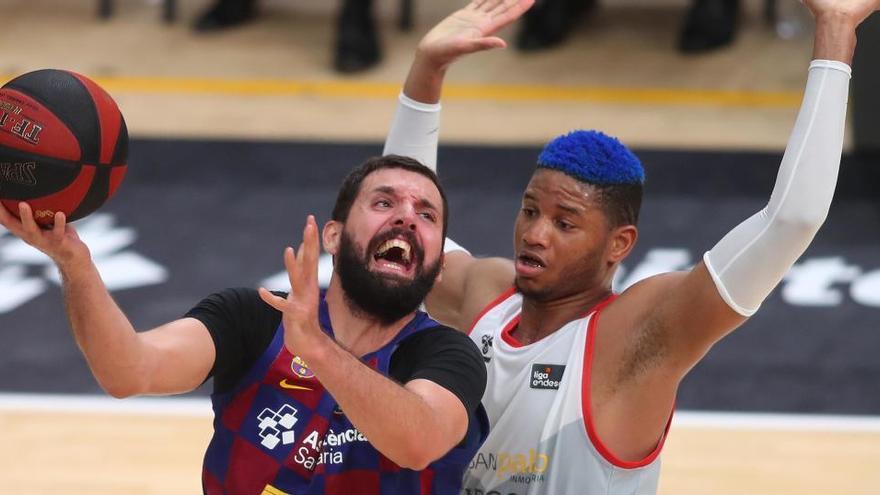 El Barça evita la sorpresa del San Pablo Burgos y se clasifica para la final