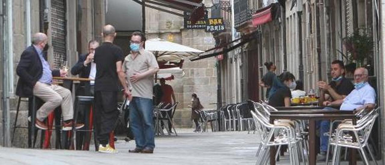 Terrazas en Ourense.     // IÑAKI OSORIO
