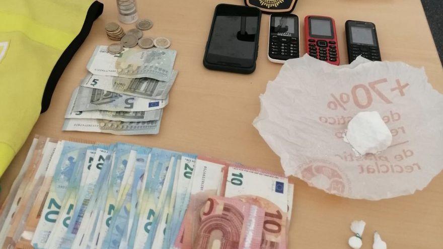 Arrestado por vender cocaína desde su puesto de la ONCE en Valencia