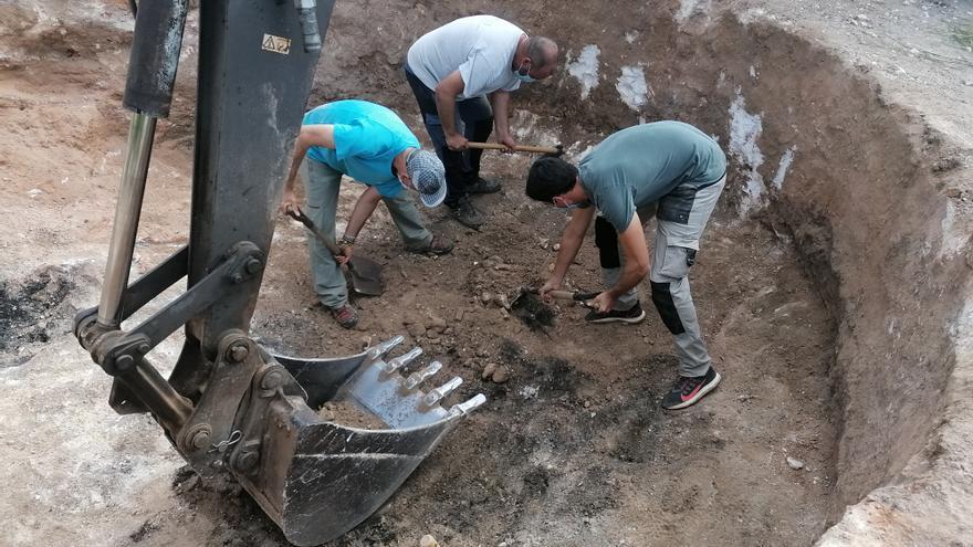 Las excavaciones en el Coll d'Artà en busca de una posible fosa finalizan sin éxito