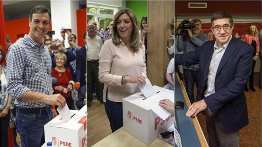 Un PSOE dividido y crispado elige hoy a su nuevo líder