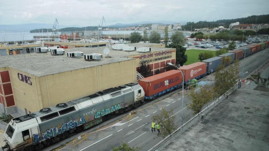 El desplome de los trenes de mercancías en la comunidad