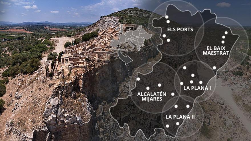 21 yacimientos arqueológicos abiertos al turismo en Castellón