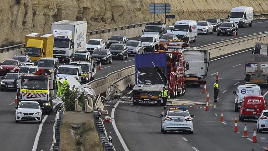 Los accidentes de tráfico dejan secuelas a 2.200 personas al año en Alicante