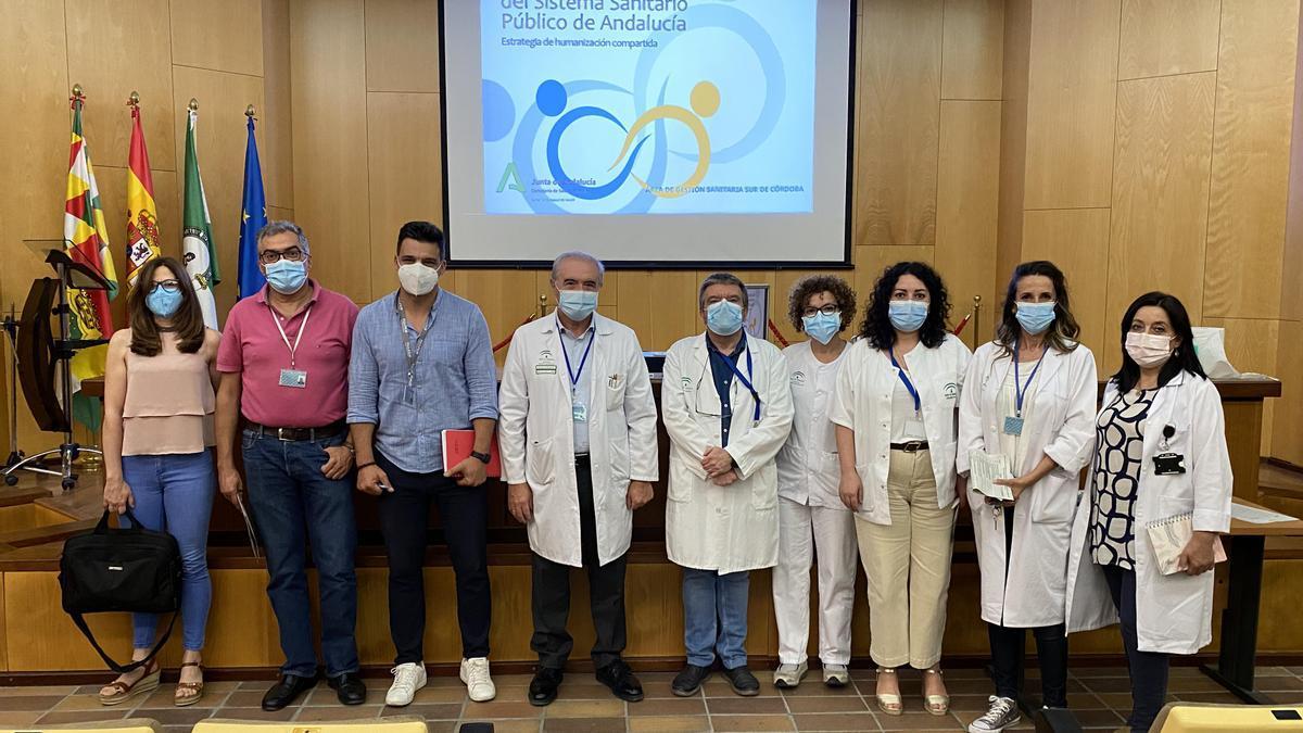 Miembros de la Comisión de Humanización del Área de Gestión Sanitaria Sur de Córdoba.
